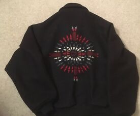 Men's Jacket : Native American Pendleton 100% Wool