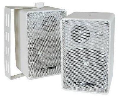 MCM Custom Audio 50-10546 INDOOR OUTDOOR SPEAKER PAIR 3 WAY