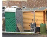 Portable site toilet