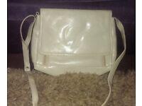 Ladies / Womans Cream Coloured Handbag by DICE