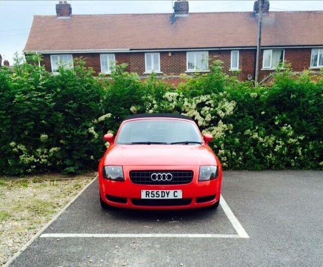 Audi TT Convertible Red