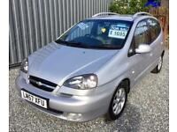 CHEVROLET TACUMA 2.0 CDX 5dr Auto - Fantastic Family Car - 5 Full Seats - Great Equipment!! 2008