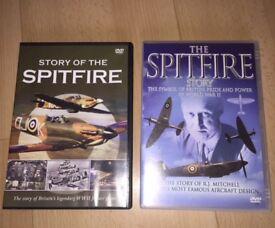 2 Spitfire DVD,s