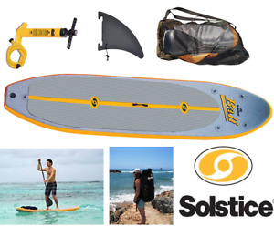 """NEW SOLSTICE STAND-UP INFLATABLE PADDLEBOARD 10'8"""""""