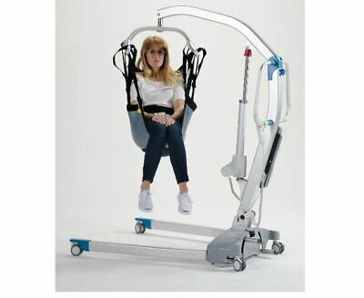 Hoyer One Piece Commode Lift Sling with Positioning Strap, XL, (Hoyer One Piece Commode Sling)