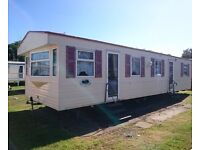 Sited -Static caravan -ABI Cotswold -2003-3bed-d/g-g/h-free site fee