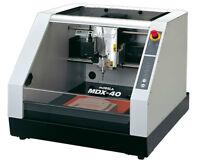 Fraiseuse à commande numérique Roland MDX-40A, 3 axes