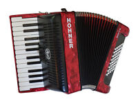 Hohner Bravo II 48 Bass Piano Accordion