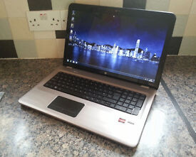 "HP DV7 17.3"" LAPTOP, FAST TRIPLE CORE 2.10GHz, 8GB, 500GB, WIFI, WEBCAM, DVDRW, OFFICE, HD5470 512MB"