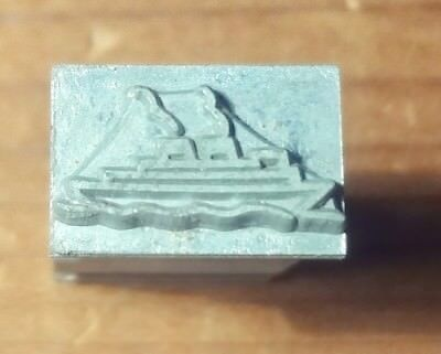 Kingsley New Ship... For Hot Foil Stamp Machine On 18 Pt. Body