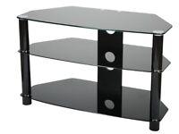 £20 Black Glass TV Stand