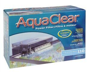 AquaClear 110 Power Filter 60 to 110 U.S. gallon aquariums