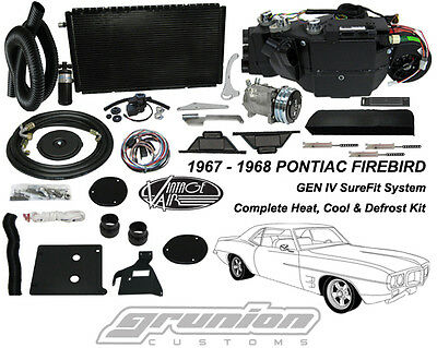 Vintage Air Pontiac Firebird w/AC 1967-68 Heat Air Conditioning Defrost Kit