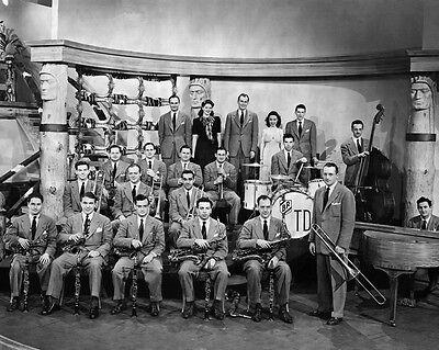 Jazz Artist TOMMY DORSEY ORCHESTRA Glossy 8x10 Photo Print Big Band Poster