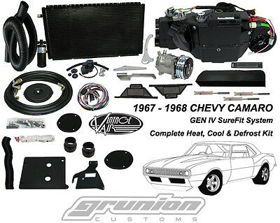 Chevy Camaro w/AC 1967 1968 Heat Air Conditioning Defrost Vintage Air Kit