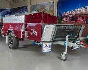 EAGLE HARD FLOOR CHEYENNE CAMPER TRAILER Para Hills West Salisbury Area Preview