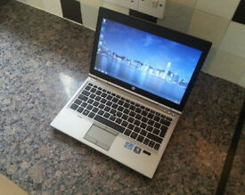 "HP 2560p EliteBook 12.5"" LAPTOP, FAST PENTIUM 2x 2.30GHz, 4GB, 320GB, WIFI, DVDRW, WEBCAM, OFFICE"