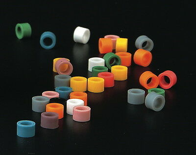 Dental Hygienist Instrument Silicone Color Code Rings 80 Pcsbox Assorted