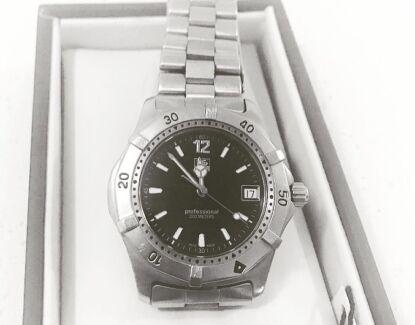 Men's Genuine Tag Heuer Professional 200m Watch