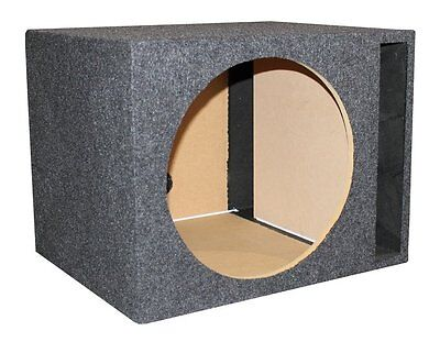 "NEW Q-Power 15"" Single Empty Vented Ported Car Audio Subwoofer Sub Box Enclosure"