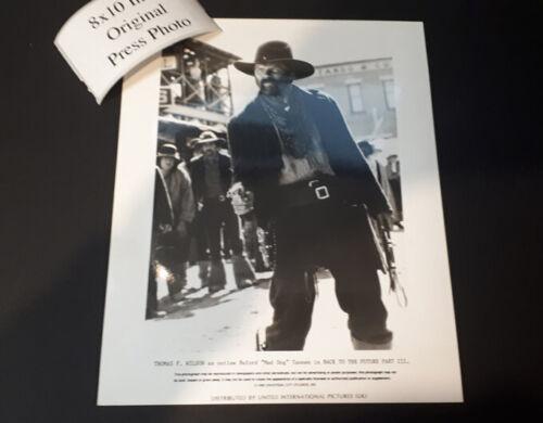 Back to the future ORIGINAL press photo 8x10 inch Michael J Fox Spielberg N