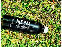 100% raw, organic pure antiseptic neem oil