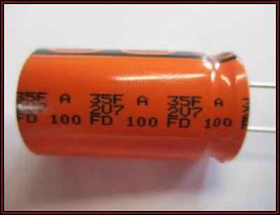Supercap Superkondensator Radial 35f -20 50 27vdc 1 Stck