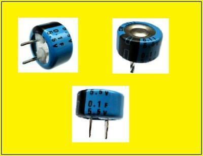 Super Kondensator Ultra Capacitor 100mf 01f 55v Ca.13x7 Ra5 1 Stck