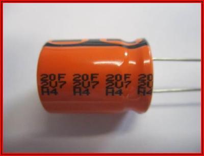 Supercap Superkondensator Radial 20f -20 50 27vdc 1 Stck