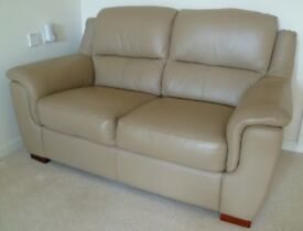 Superb condition comfortable 2 seater leather sofa