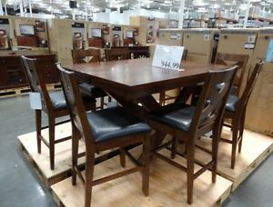 Pub Height 8 chair dining table from Costco