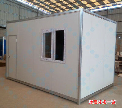 New Detachable 4mx2.2mx2.3m Container House Home Office Space Shipped By Sea