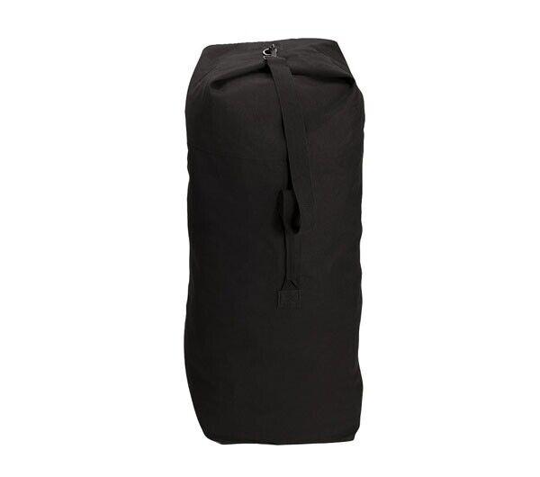 Rothco Black Top Load Canvas Duffle Bag - 3499