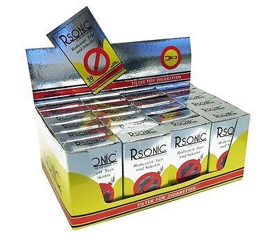 24 Packungen a 30 Stück Zigarettenfilter Rsonic Mundstück Zigaretten Filter NEU