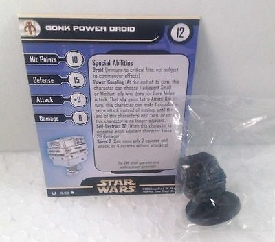 Star Wars Universe 18/60 Gonk Power Droid (C) Miniature