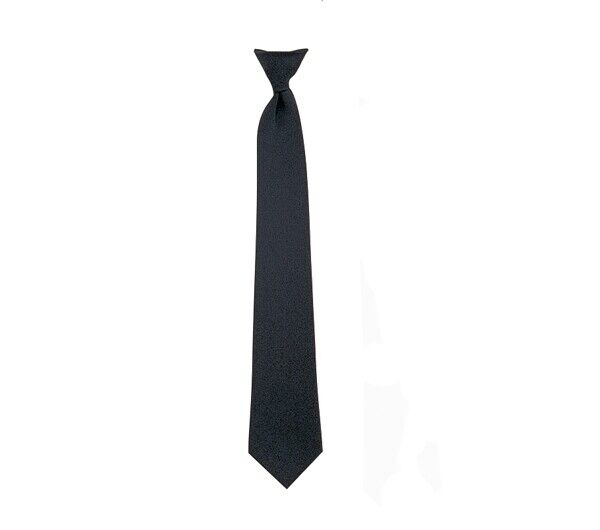 Rothco Black Clip-on Police Issue Necktie - 30082