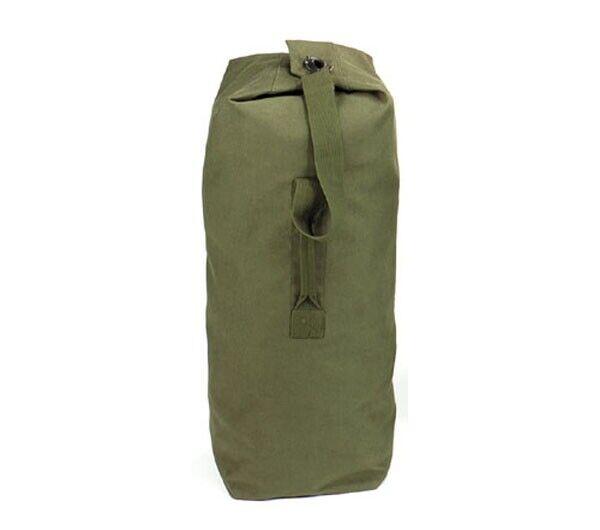Rothco Olive Drab Top Load Canvas Duffle Bag - 3339