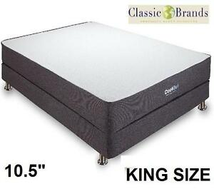 NEW CB KING MEMORY FOAM MATTRESS - 117903088 - CLASSIC BRANDS COOL GEL VENTILATED
