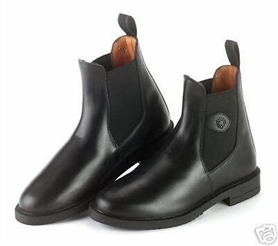 Stiefeletten , Reitstiefeletten Schuhe Gr. 38, Leder Reitstiefel schwarz NEU online kaufen