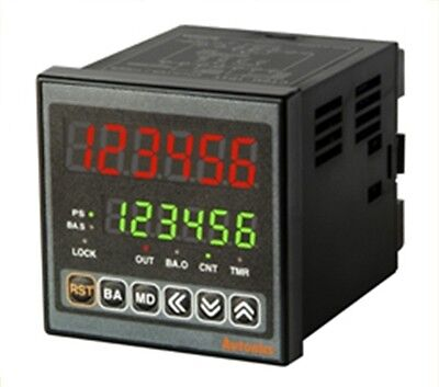 Digital Timercounter Autonics Ct6m-2p4 Dual Preset Batch Counting