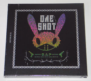 B-A-P-BAP-One-Shot-2nd-Mini-Album-CD-Photocard-Random-Poster-Gift-Photo