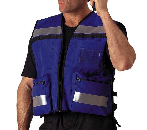 Rothco Blue E.M.S. Rescue Vest - 9521