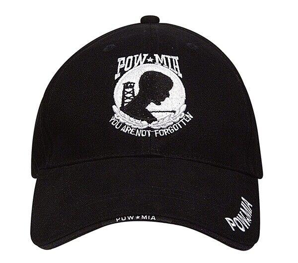 Rothco Black Pow Mia Cap - 9369