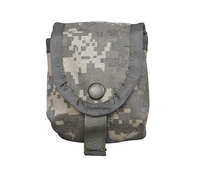 3 Grenade Pouches Molle II ACU Camo Authentic Military Surplus