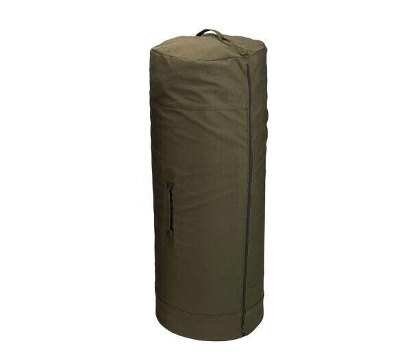 Rothco Olive Drab Side Zipper Duffle Bag - 3490