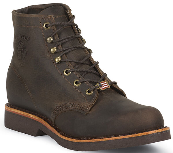 Chippewa Men's Rugged Hand Crafted Lace-up