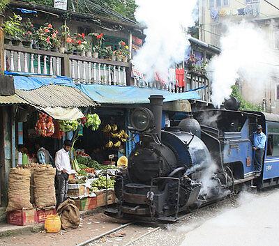 Eine Zugfahrt durch Indien zählt zu den absoluten Urlaubshighlights. (© Arne Hückelheim/Wikimedia Commons)