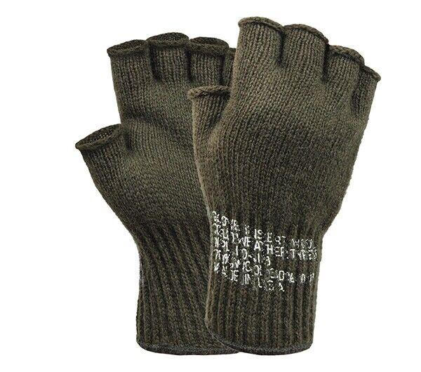 Rothco Fingerless Wool Gloves - 8410