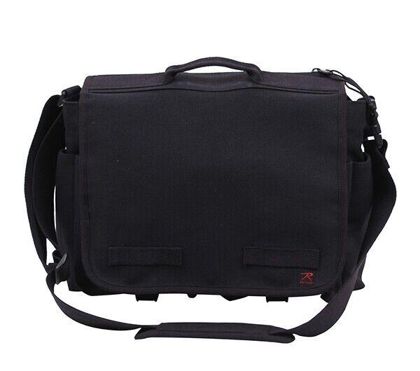 Rothco Black Concealed Carry Messenger Bag - 91218