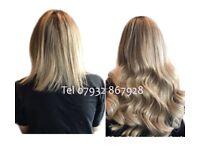 Tape Hair -- Brazilian Knots -- LA-Weave-- Hair-Nano Ring Hair--Micro Ring Hair—Mesh Integration